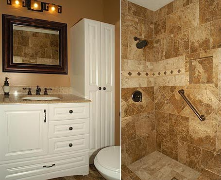 Remodeled bathroom - Pictures of remodeled small bathrooms ...